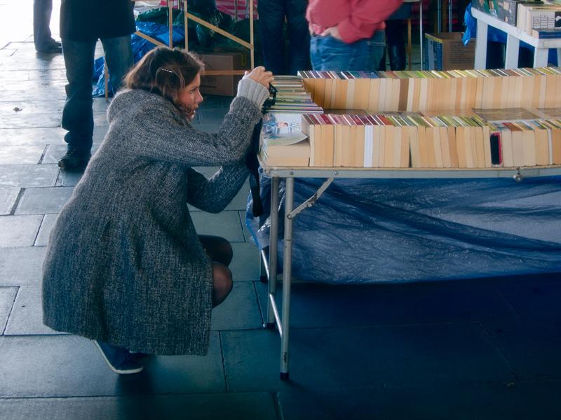 Waterloo Bridge Bookmarket